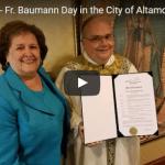Fr Steve Baumann Day!