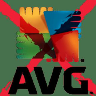AVG logo x'd out