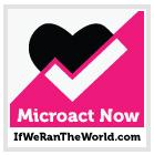 if we ran the world logo