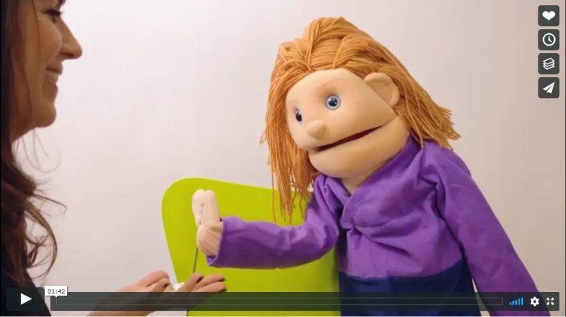 Nancy Shenker puppet show video
