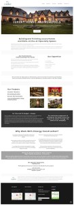Cinergy Construction website home page