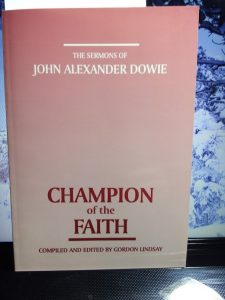 Dowie Sermons bk cover