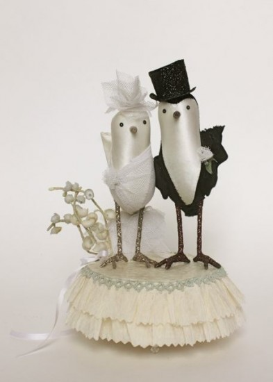josephine and fritz cake topper