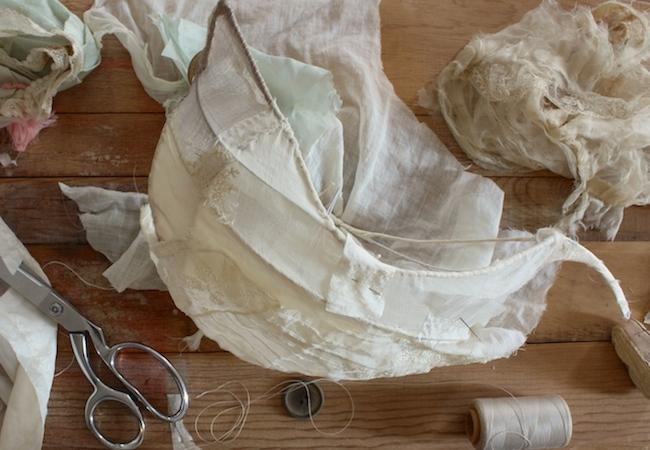 tattered silk ship