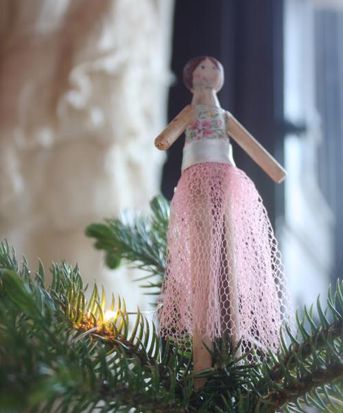 clothespin ballerina