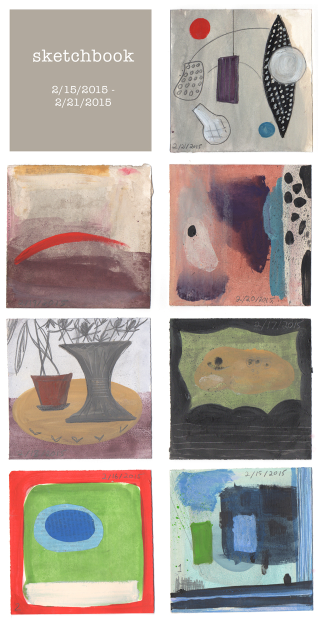 ann wood sketchbook week 1