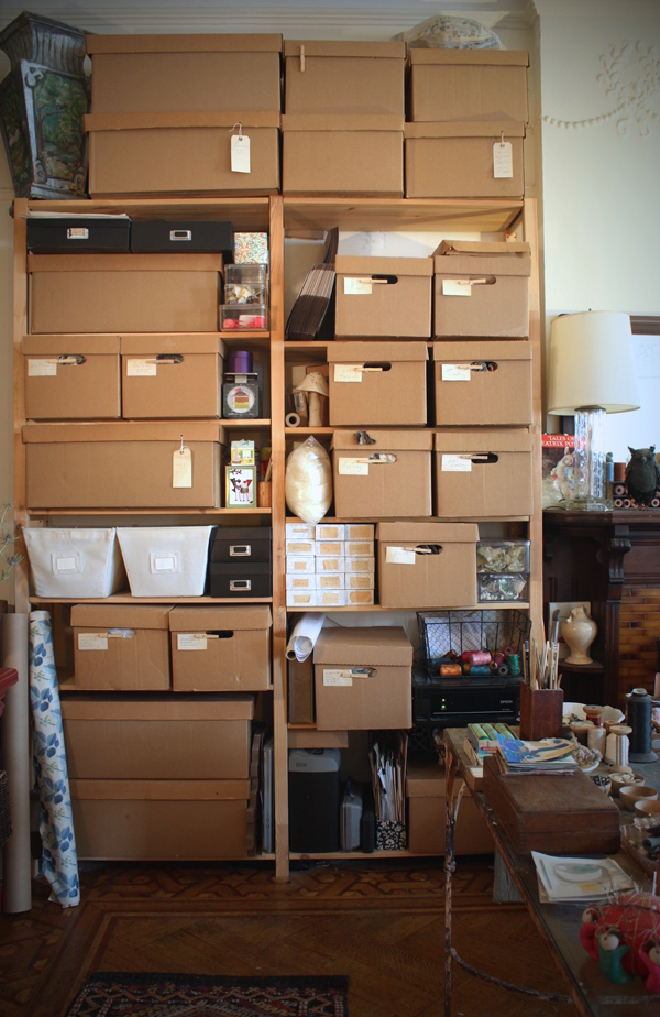 studio storage shelves