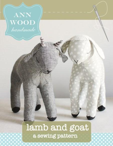lamb and goat pattern