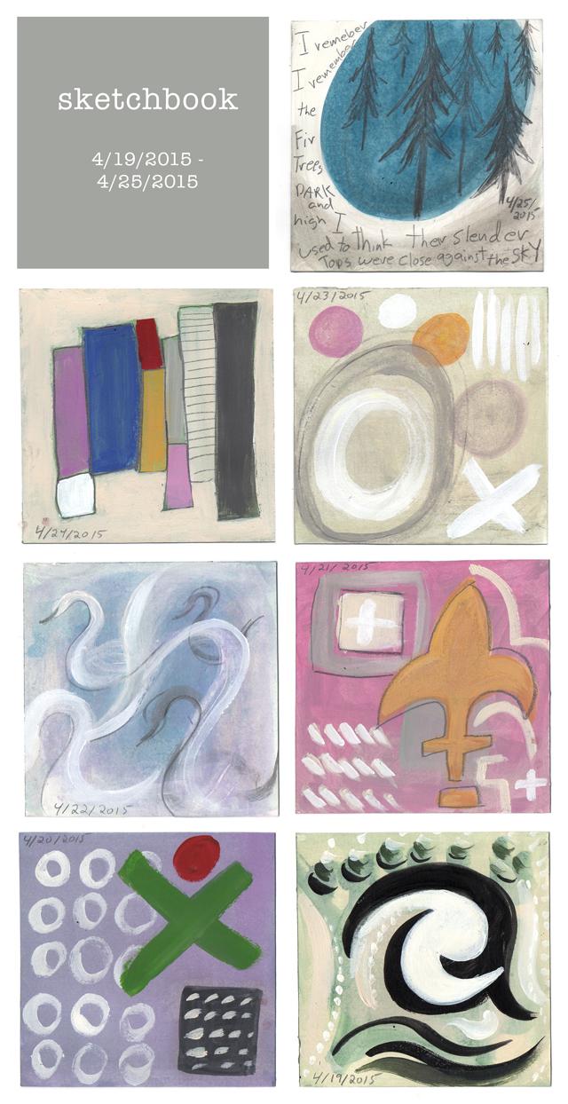 sketchbook week 10
