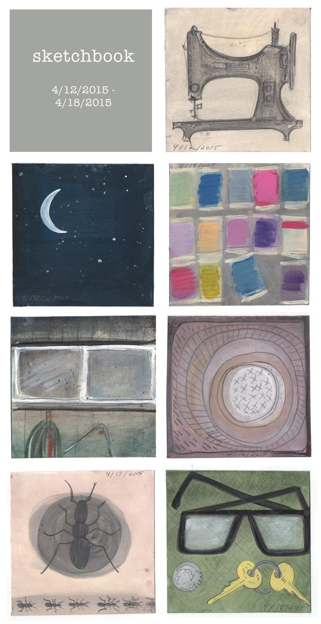 sketchbook week 9