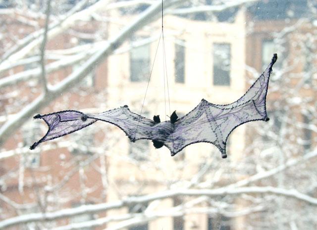 textile art bat