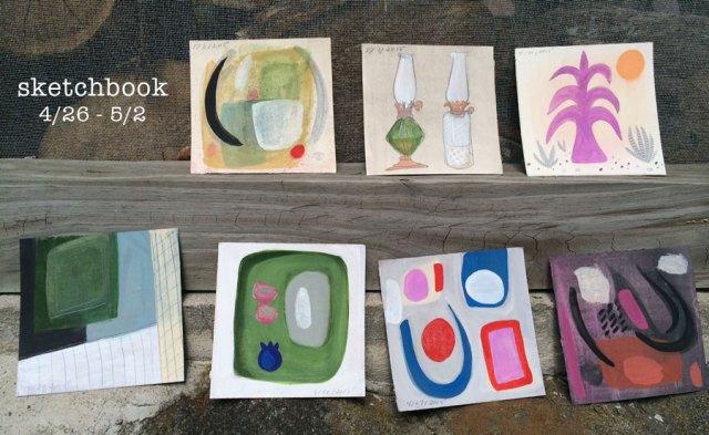sketchbook - week 11
