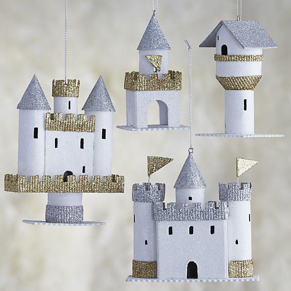 paper castle ornaments