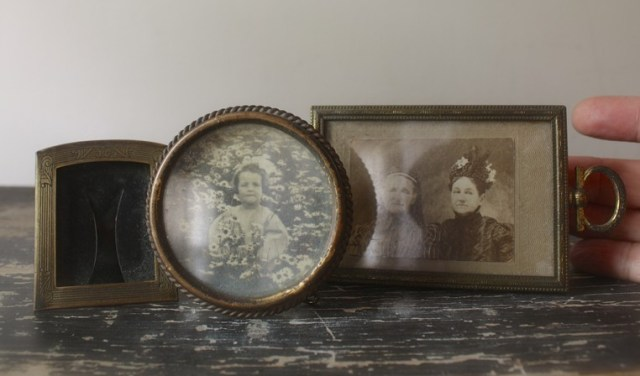 antique mini frames