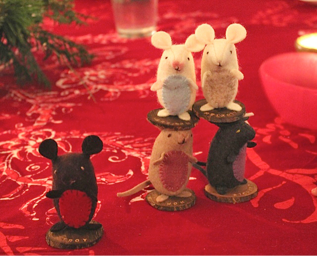 place card mice