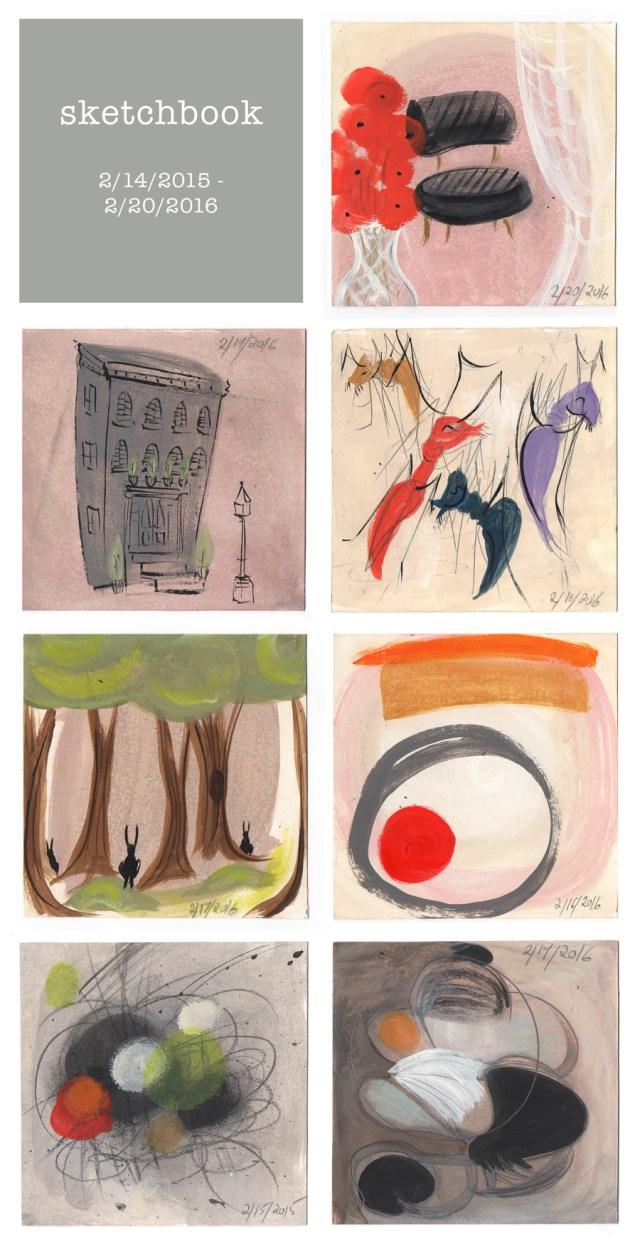 sketchbook : week 49