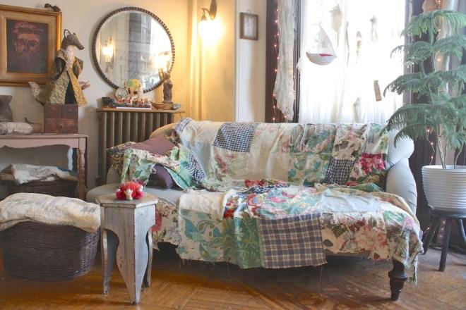 lovely old quilt