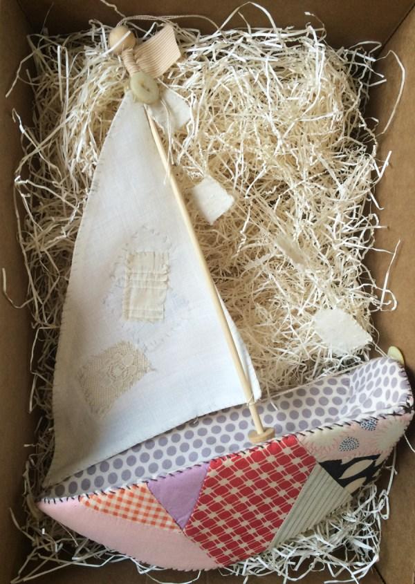 patchwork sailboat