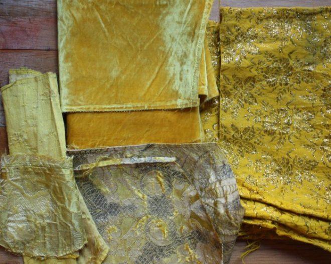 vermeer yellow textiles