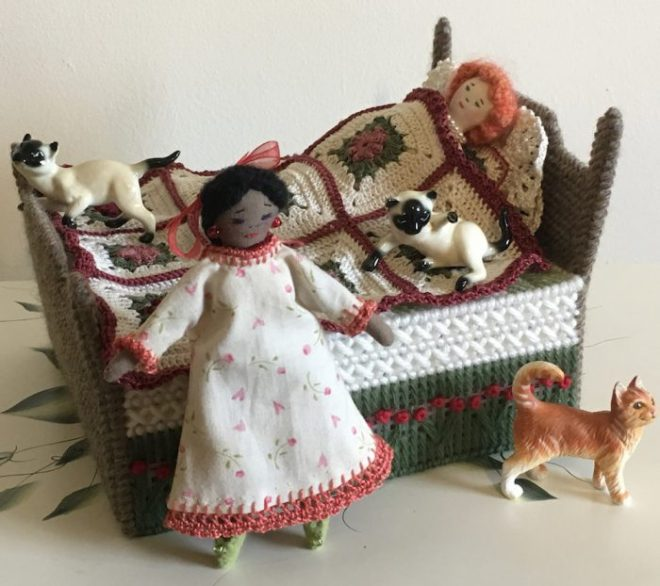 tiny dolls by Joyce
