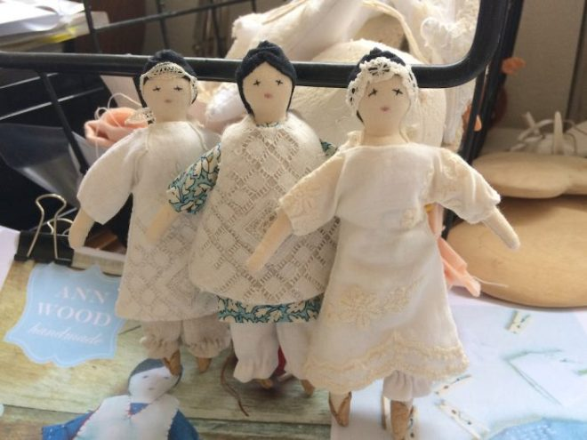 tiny rag dolls by Karen