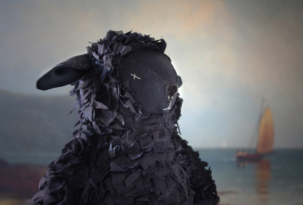 an aristocratic lamb : how to create texture with fabric