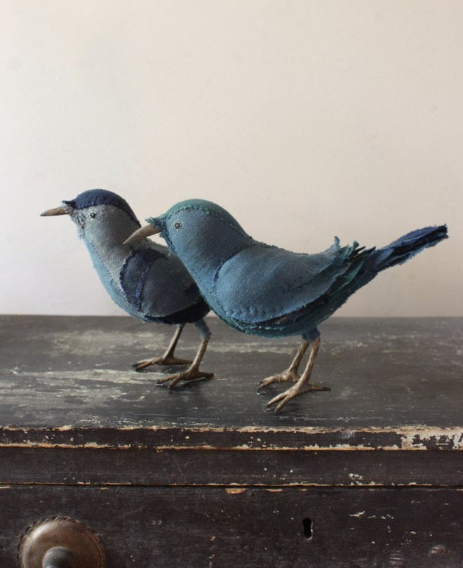 stitched songbirds