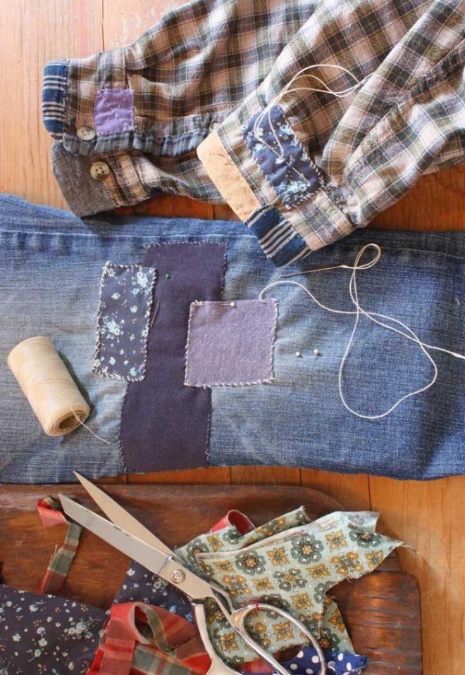 ann wood : mending