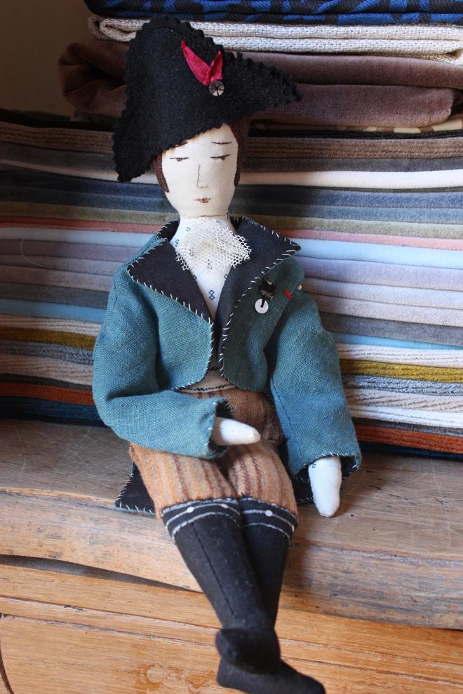soldier rag doll