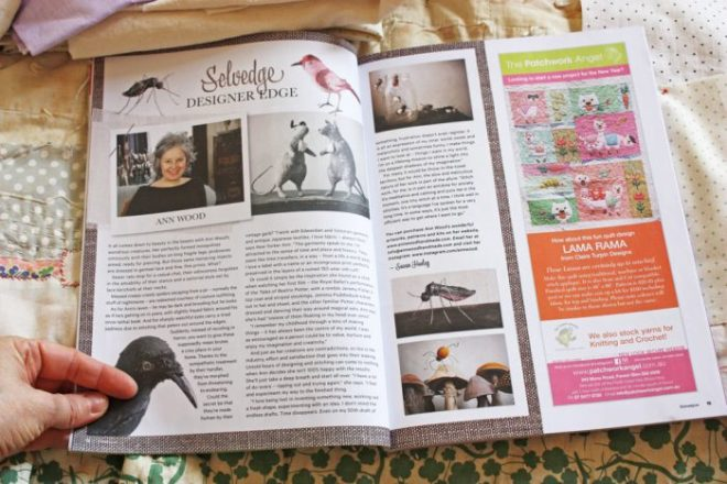 homespun magazine : ann wood