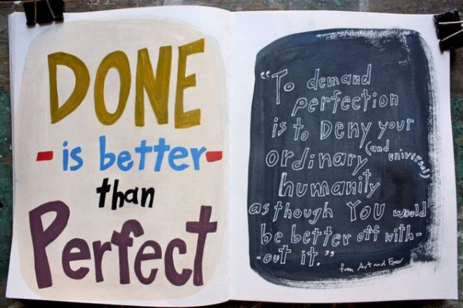 ann wood sketchbook : perfection