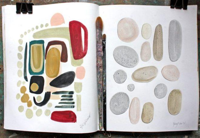 sketchbook : stones