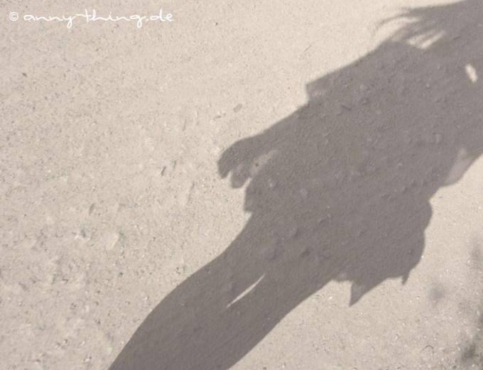 Gedankentauchen Schatten