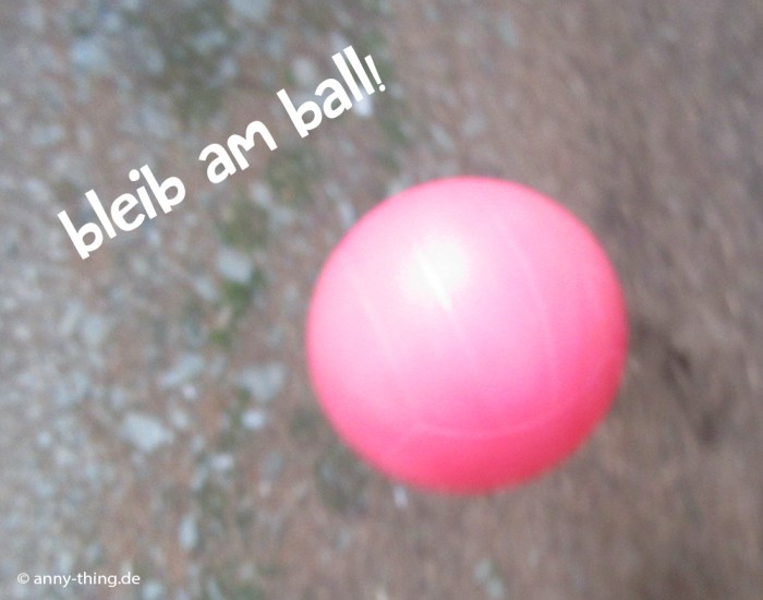 am Ball bleiben Abschlussarbeit