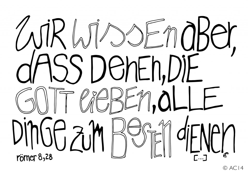 Römer 8 28 Spruchbild