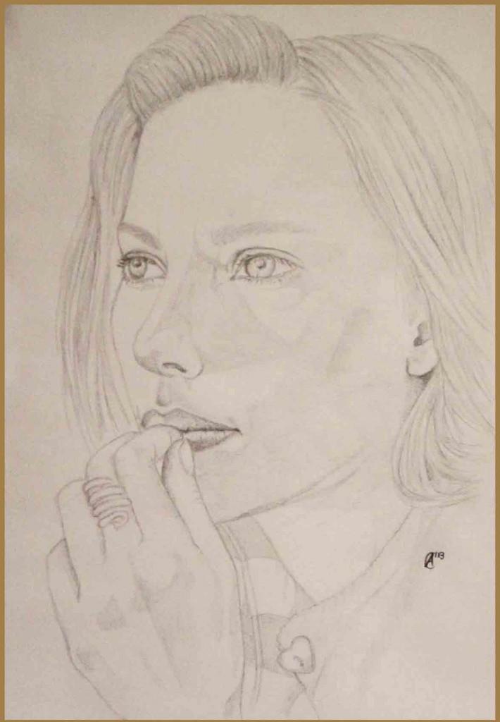 Scarlett Johansson Porträt (c) Kleemann