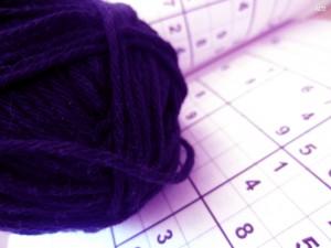 Sudoku und Wolle