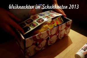 Weihnachten im Schuhkarton 2013