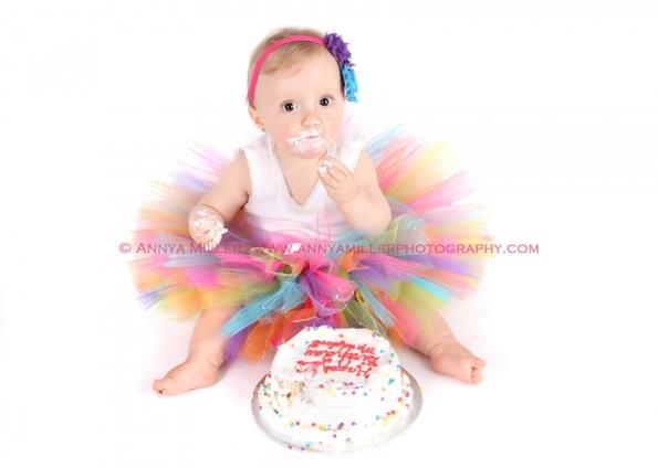 Happy Birthday Baby! { Cake Smash Photography }