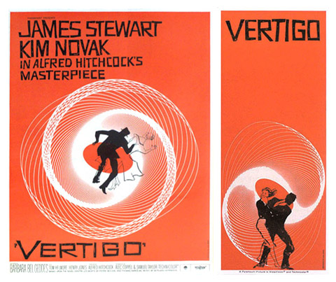 Saul Bass Vertigo magazine ads