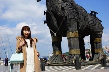 【土耳其熱氣球圓夢】世界遺產 木馬屠城記 特洛伊 ♥ 古城遺址。新馬與舊馬