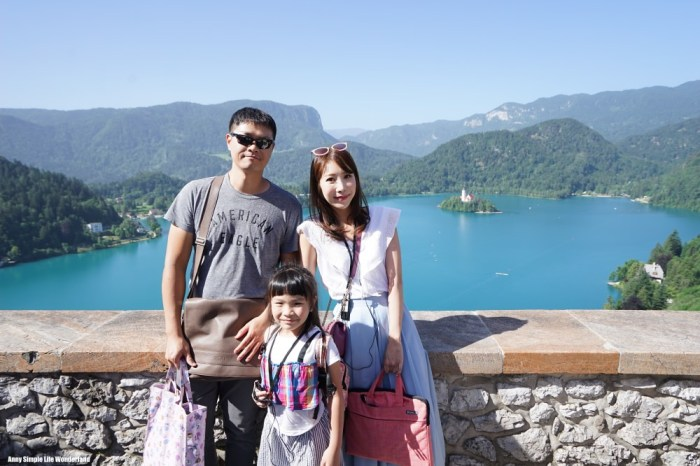 【斯洛維尼亞】布雷德湖景點 布雷德城堡 ♥ 遠眺布雷德湖的超美古城