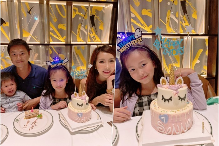 【育兒生活】波妞七歲生日快樂 ♥ 一轉眼就變小少女了