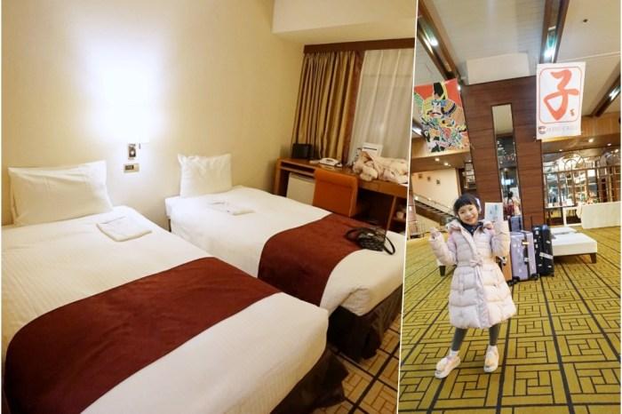 【日本東北】山形住宿推薦 ♥ JR山形站外便宜住宿 山形城堡酒店