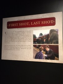 And then they had to go and make me cry. This is the first shot they filmed along with the last one; both of Harry and the Hogwarts Express.
