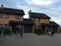 Number 4 Privet Drive is on the left, and their neighbor's house on the right (I guess Number 5 is important too? lol)
