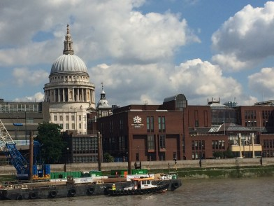 St. Paul's and the City of London School.