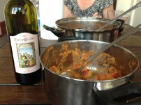 Rome: wine and homemade pasta