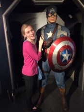 My other love, Captain America!