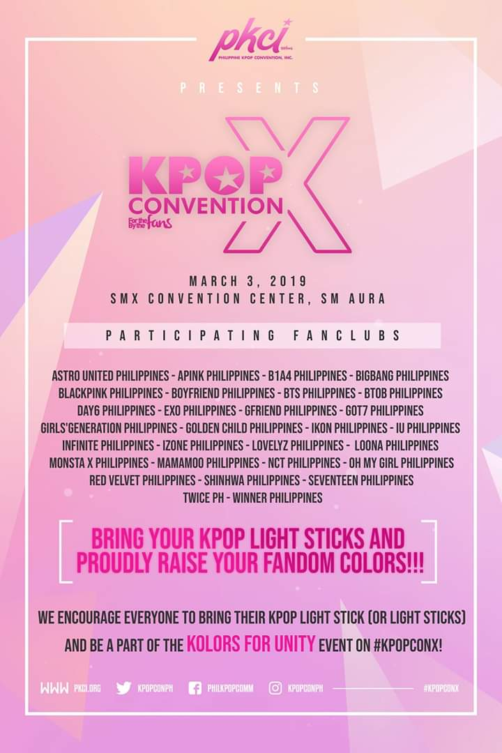 LOOK: KPOPCON X is happening this year! - Annyeong Oppa